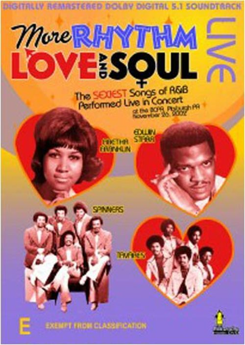 Rhythm, Love and Soul [DVD]