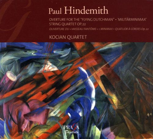 Paul Hindemith: Overture for the 'Flying Dutchman'; Militärminimax; String Quartet Op. 22