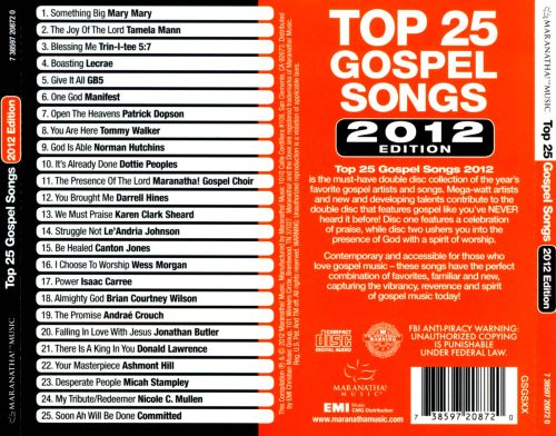 album the very best top gospel songs mw