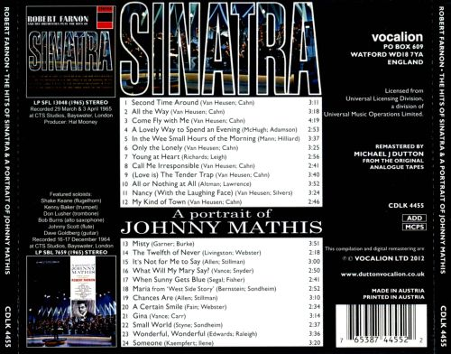 The Hits ofSinatra/A Portrait of Johnny Mathis