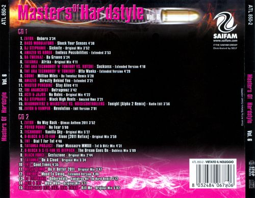 Masters of Hardstyle, Vol. 6
