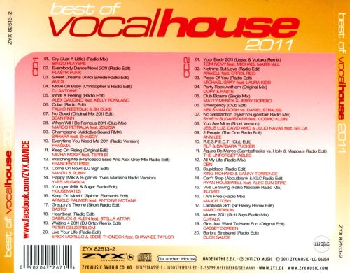 Best of vocal house 2011 various artists songs for Best vocal house songs ever