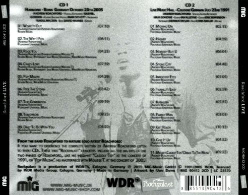 Live at Rockpalast 1991 and 2005