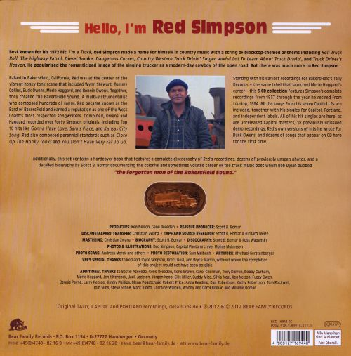 Hello, I'm Red Simpson