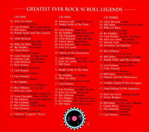 Greatest Ever! Rock 'N' Roll Legends: The Definitive Collection
