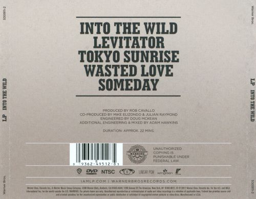 Into the Wild: Live at Eastwest Studios