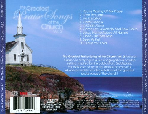 The  Greatest Praise Songs of the Church, Vol. 2