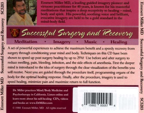 Successful Surgery and Recovery: Conditioning Mind and Body