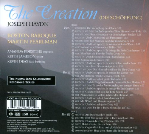 Haydn: The Creation (Die Schöpfung)