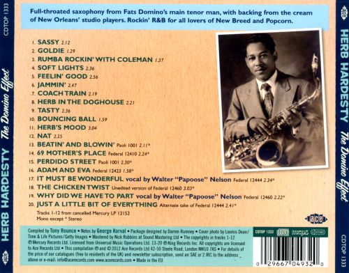 The Domino Effect: Wing and Federal Recordings 1958-61