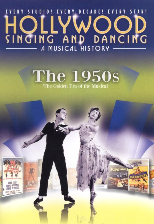 Hollywood Singing and Dancing Musical History: The 1950s