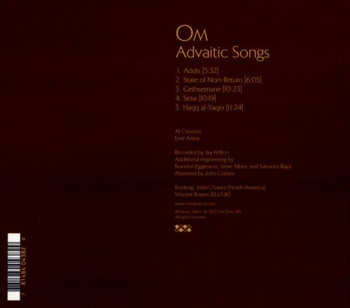 Advaitic Songs