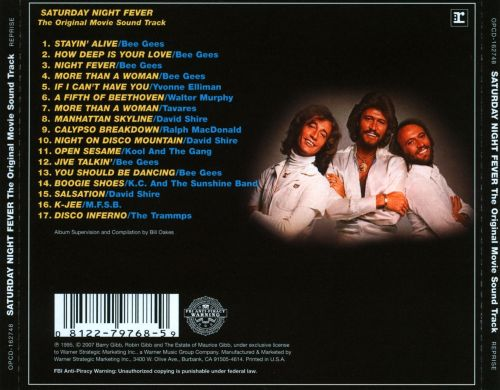 Saturday Night Fever [Original Soundtrack] - Bee Gees ...