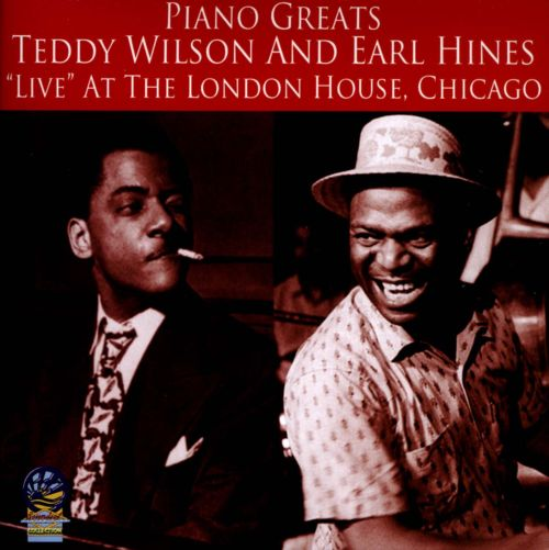 Piano greats live at the london house chicago earl for Chicago house music songs