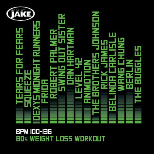 Body By Jake: 80s Weight Loss Workout (BPM 100-136)
