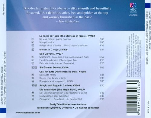Mozart: Arias & Orchestral Music