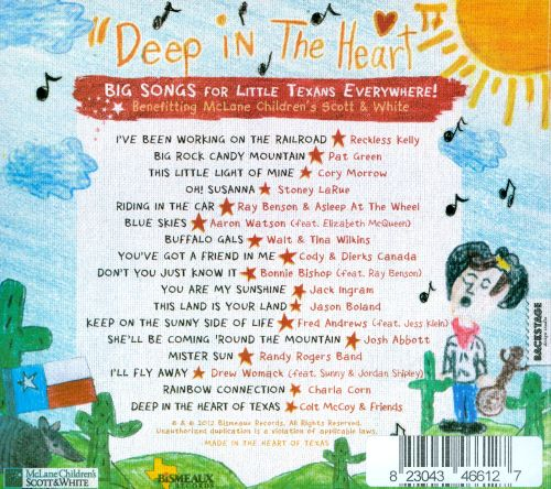 Deep in the Heart: Big Songs for Little Texans Everywhere