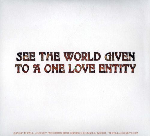 See the World Given to a One Love Entity