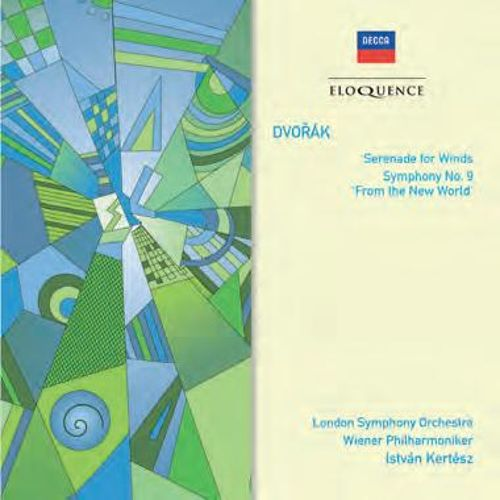 Dvorák: Serenade for Winds; Symphony No. 9 'From the New World'