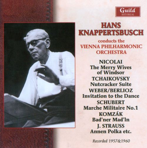 Hans Knappertsbusch conducts the Vienna Philharmonic Orchestra