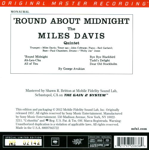 'Round About Midnight