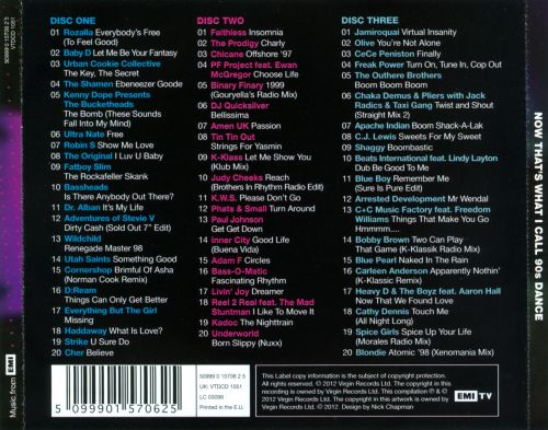 Various - Now Dance Hits 96 - Volume 1