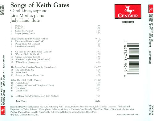When Hope Still Had Its Chance: The Songs of Keith Gates