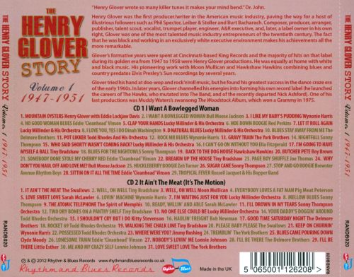 The Henry Glover Story, Vol. 1: 1947-1951