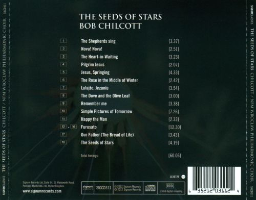 The Seeds of Stars: Choral Music by Bob Chilcott