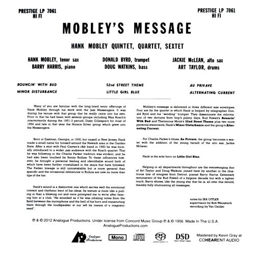 Mobley's Message