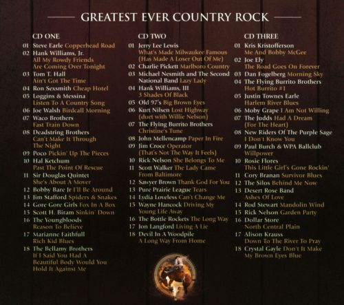 Greatest Ever! Country Rock [2013]
