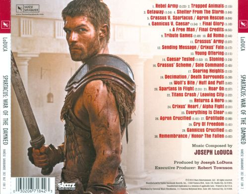 Spartacus: War of the Damned [Music from the Starz Original Series]
