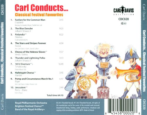 Carl Conducts... Classical Festival Favourites