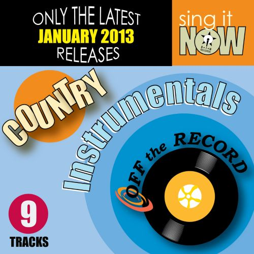 January 2013 Country Hits Instrumentals