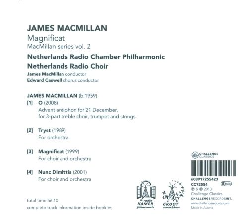 James MacMillan: Magnificat