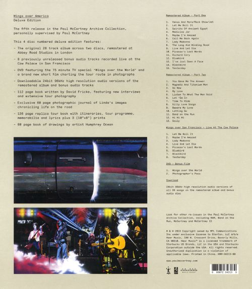 Wings Over America [Deluxe Box Set]