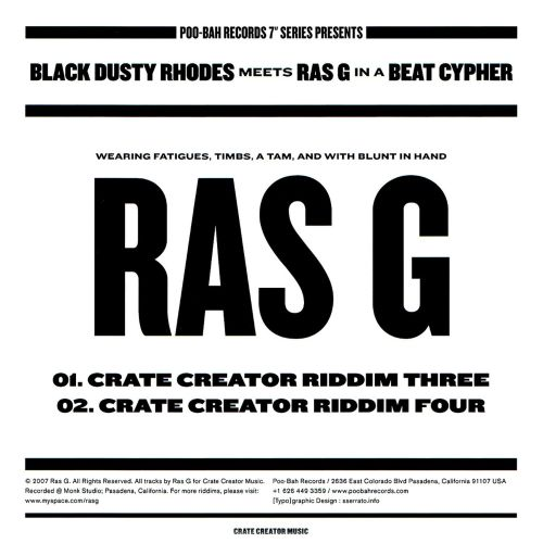 Black Dusty Rhodes Meets Ras G in a Beat Cypher