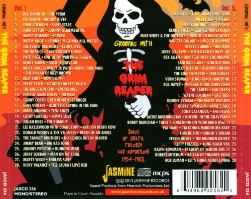 Grooving with the grim reaper songs of death tragedy and misfortune