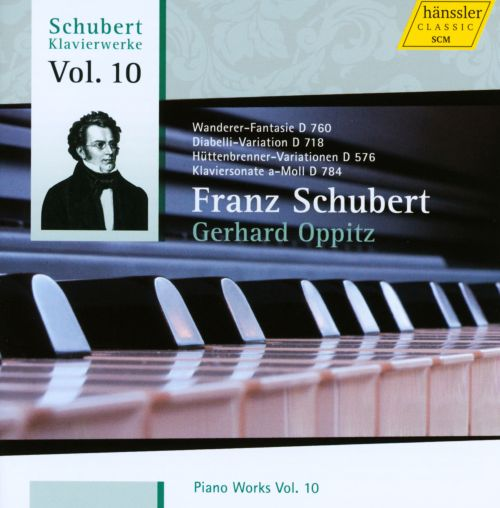 Schubert: Piano Works, Vol. 10