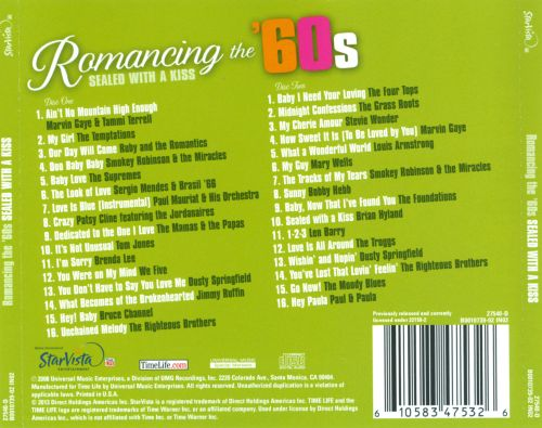 Romancing the '60s: Sealed with a Kiss