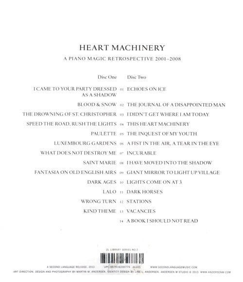 Heart Machinery: A Piano Magic Retrospective, 2001-2008