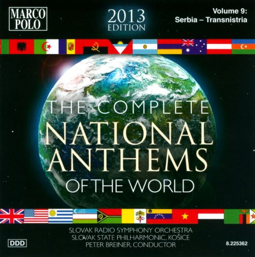 Complete National Anthems of the World (2013 Edition), Vol. 9