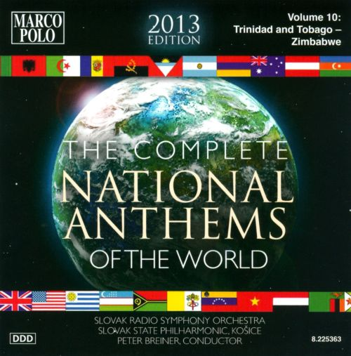 Complete National Anthems of the World (2013 Edition), Vol. 10