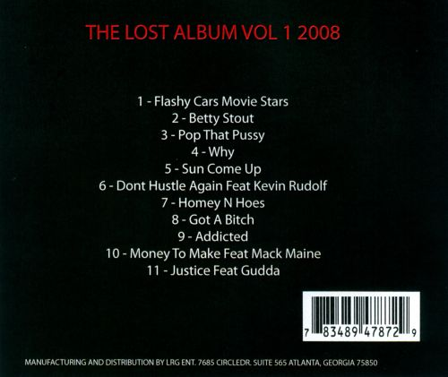 Lost Album, Vol. 1 2008