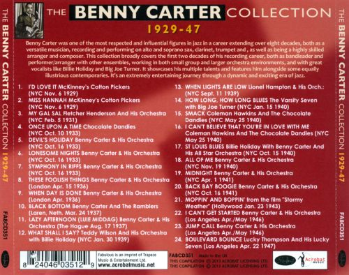 The Benny Carter Collection 1929-1947