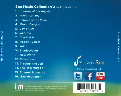 Spa Music Collection, Vol. 2