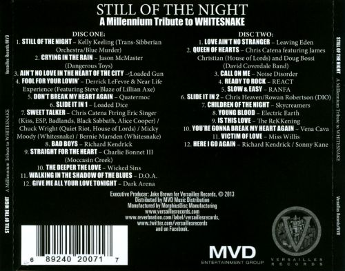 Still Of The Night: A Millennium Tribute To Whitesnake