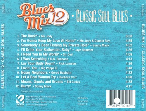 Blues Mix, Vol. 12: Classic Soul Blues