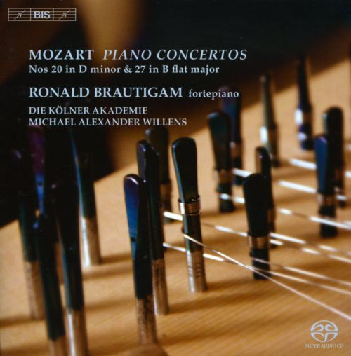 Mozart: Piano Concertos No. 20 in D minor & No. 27 in B flat major