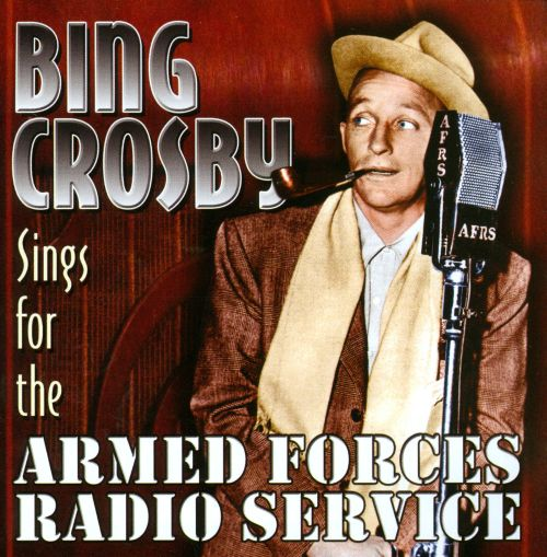 Sings for the Armed Forces Radio Service